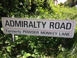 Admiralty Road, formerly Powder Monkey Lane